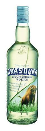 Grasovka Vodka Bison Brand